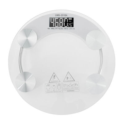 Digital Body Scale 180KG LCD Glass Weight Scales Bathroom Gym Electronic Scale