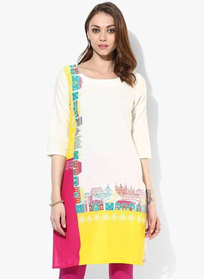White Printed Kurti Scarf, Shawl, Elephant Printed Scarf, Elephant Patterned Shawls, Ethnic Scarf, Lightweight Summer Scarf, Gift for Mothers Day, for Christmas and New Year Elephant Patterned Shawls, Ethnic Scarf, Lightweight Summer �'�740.00
