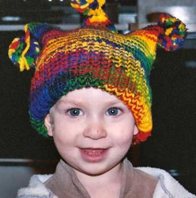 Baby Jester Hat Knitting Pattern / knits and kits - Juxtapost