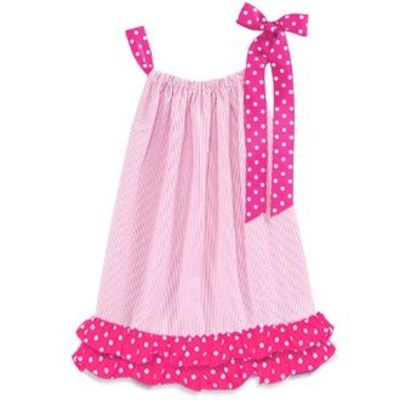 Cute Ideas For Pillowcase Dresses : pink Pillowcase Dress- I like the cute ruffle on the bottom.... / womens apparel - Juxtapost