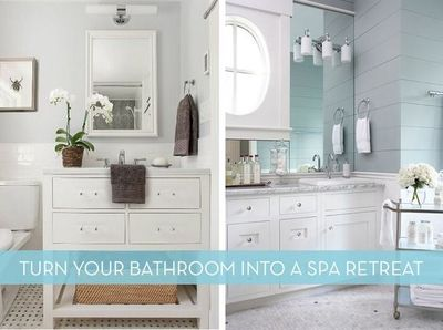How to: Easy Ideas To Turn Your Bathroom Into A Spa-Like Retreat