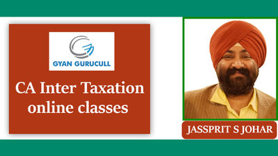Gyan Gurucull is providing online video classes for a CA aspirants' who want to attend CA inter taxation online classes without wasting time and money. This CA Inter Taxation Online classes cover 100% complete course by Jassprit Johar. Know more...