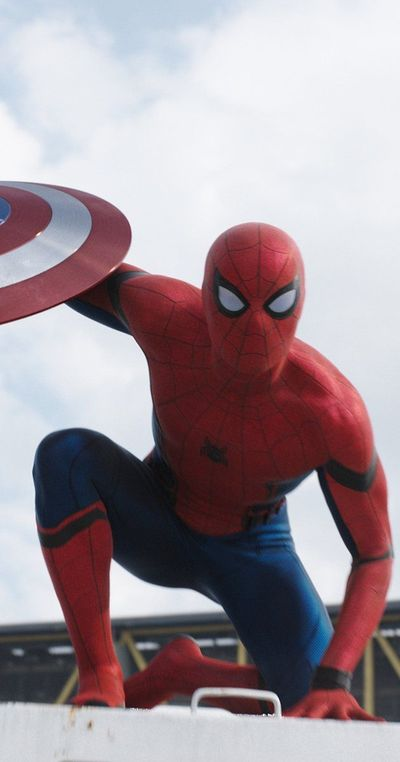 Spidey in Civil War! Yayah! Andrew Garfield was amazing and I'm really upset that he's no longer going to be Spider-Man, but I'm willing to give this one a try and I'm excited to see where they take him