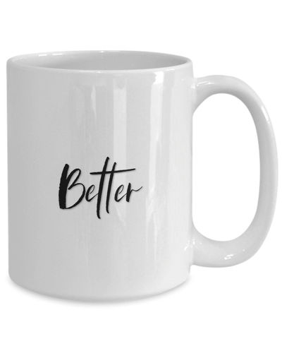 Better together White Ceramic Coffee Mug |Wedding Gift | Engagement Gift | Anniversary| Newly Weds| Couple| Bride| Groom| $18.95