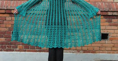 Gorgeous Lacy Crochet Duster Free Pattern Crochet Ideas And Tips