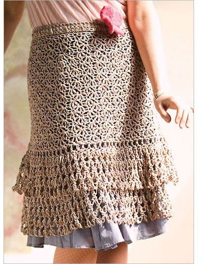 """Pattern available to buy for """"Parfait Skirt"""" from Interweave."""