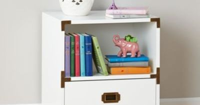 Campaign Nightstand (White) | The Land of Nod