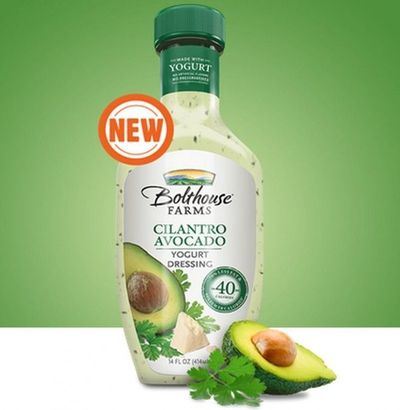 Learn more about this delicious, Cilantro Avocado low calorie dressing at LaaLoosh.com! Bolthouse Farms makes amazing yogurt based salad dressings for just 1 Po
