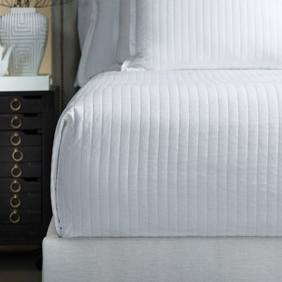 Aria White Velvet Bedding by Lili Alessandra $550.00