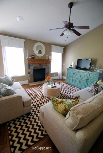 I've been so excited to share our new family room design with you. I've been working with Staci Chavez of A SaltBox Interior Design. Staci is a good friend of m