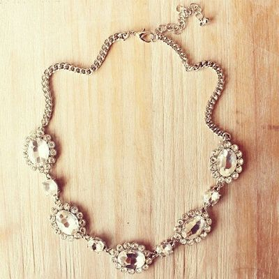 kate spade inspired bridesmaids necklace bridal by
