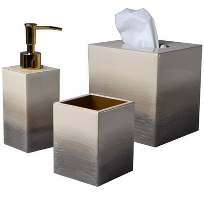 Natural/Gold Ombre Bath Accessories by Mike + Ally $90.00