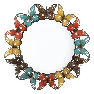 Colorful Butterfly Wall Mirror $69.95