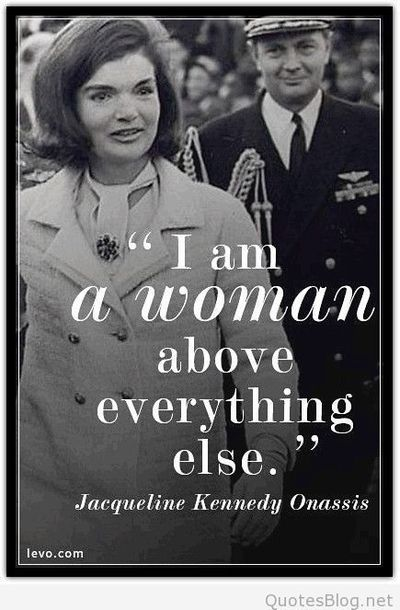 I am a woman quote