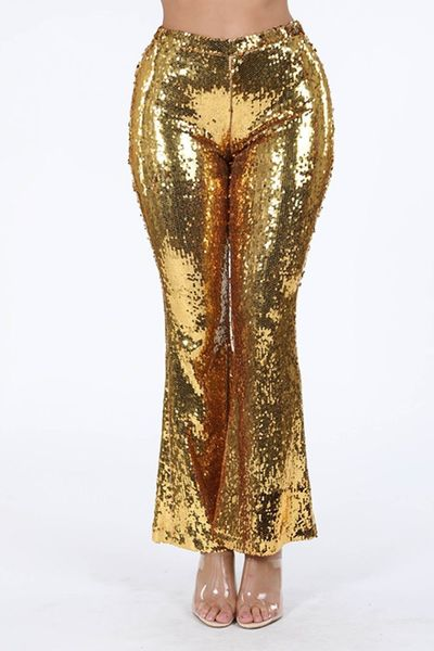 Sequined Flare Pants $43.02