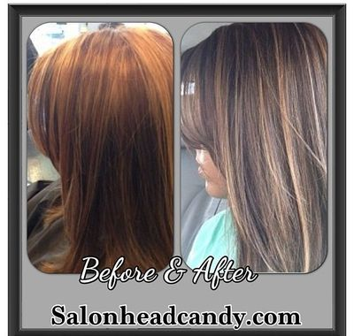 Galerry home hair color correction tips