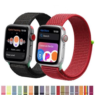 Nylon Sport Loop Strap For Apple Watch series 4 3 2 1 $15.99