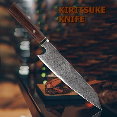 Chef Knife 8 inch Japanese Kiritsuke Blade Shape Professional Kitchen Knives l Home Cooking Tools $116.00