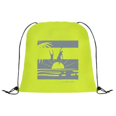 Above All Odds Drawstring Backpack by ALNBRANDS 200pc Min Order. $2.25
