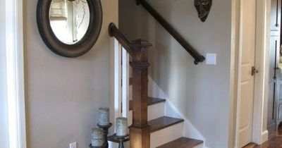 """From another poster, """"Pretty gray -- sherwin williams """"Pavillion Beige"""" I have painted my past three houses this color. I always get asked what the color is. It is a beige grey color. Perfection!!!!!"""""""