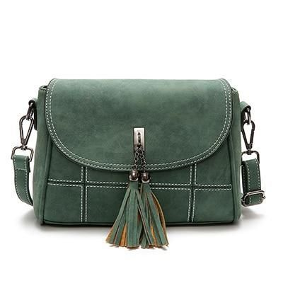 Nubuck Tassel Women Messenger Bags Designer Handbags High Quality Female Shoulder $43.26