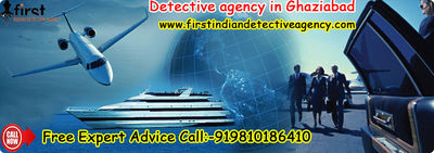 We are a reliable name in the examination field and figured among the noticeable detective agency in Ghaziabad. You can come to us and our specialists will help you in finding the facts. We are represented considerable authority in Corporate Investigation...
