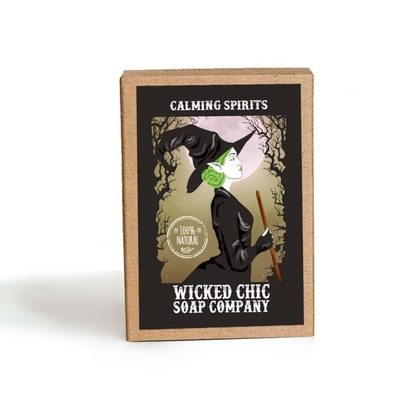 Wicked Chic Calming Spirits Bar Soap @The Lavender Lilac