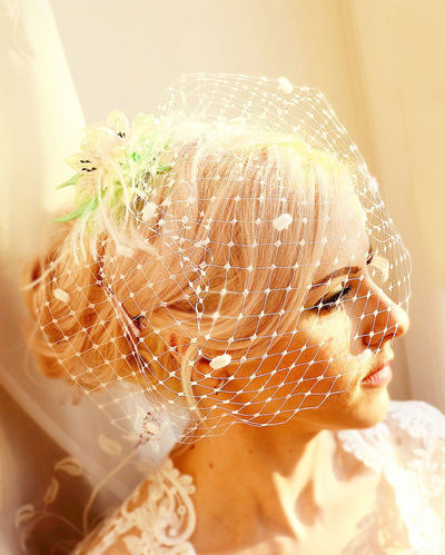 Bridal veils, bride veil, flower veil, veil wedding