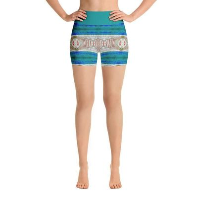 """Exclusively from And Above All YOGA --- """"Imagination"""" Deluxe Made to Order Yoga Shorts for just $39.00 with FREE SHIPPING"""