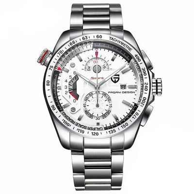PAGANI Design Quartz Stainless Steel Sports Watch $97.99