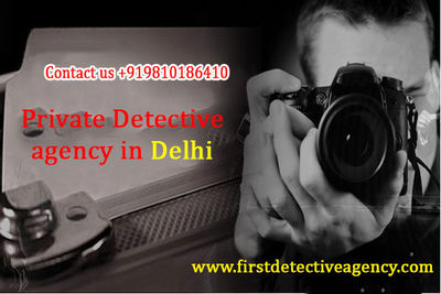 Outstanding amongst other private detective agency in Delhi is FDA. In FDA confidentiality and protection of customer is given high priority. None of the detective agency by public in general as most as headed by the traders whose solve motive is to earn ...