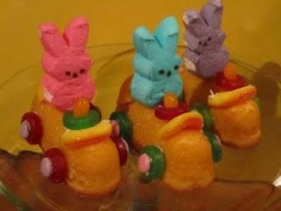Peeps Twinkie Car Treats.....like!