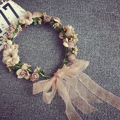 Precious Flower Crown Hair Accessory Bridal Gift $16.99