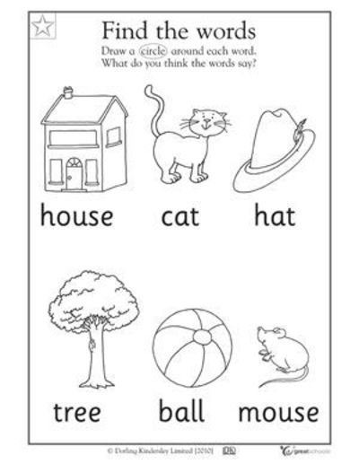 5 favorite preschool reading worksheets | greatschools.org ...