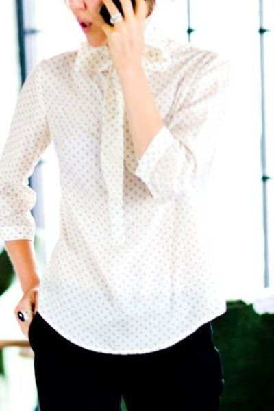 Emerson Airy Dots Blouse | EmersonMade