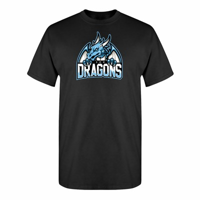 Game of Thrones Inspired Night King's Ice Dragons Sports Parody Adult Unisex T-Shirt $15.00 https://www.nurdtyme.com