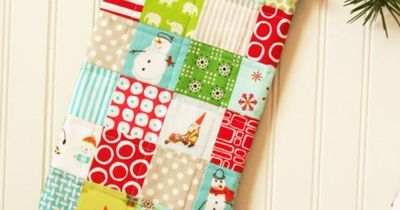 cute Patchwork stocking