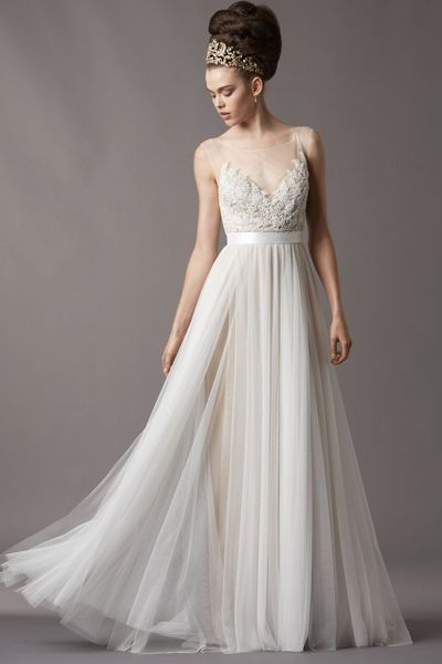 Used Watters Jacinda Size 0 for $1000. You saved 52% Off Retail! Find the perfect preowned dress at OnceWed.com.