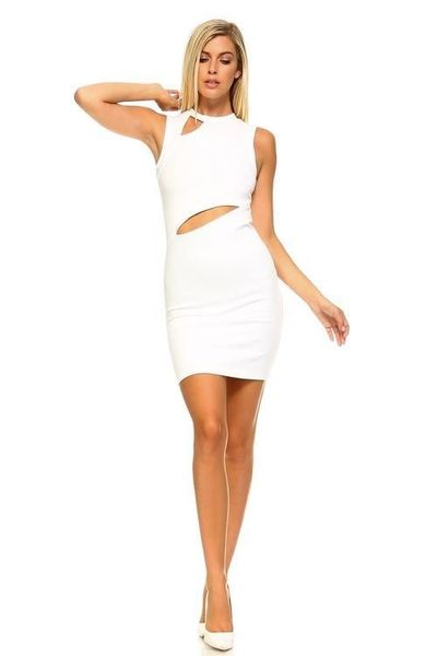 Women's Sleeveless Dress with Slits �'�1000.00