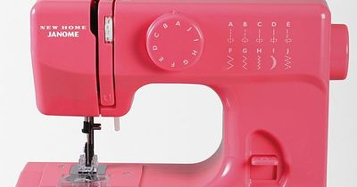 Janome Color Pop Sewing Machine $120.00