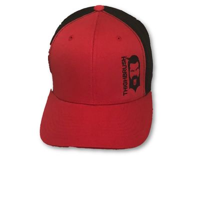 THIGHBRUSH® - Trucker Snapback Hat - Red and Black