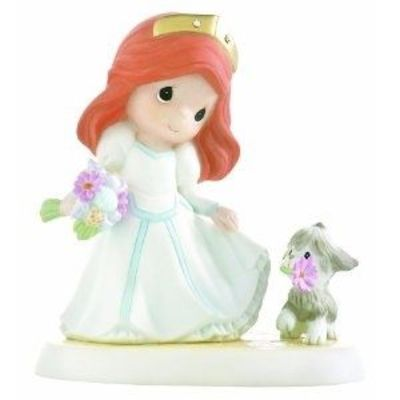 """Precious Moments Disney """"You Will Be Forever A Part Of My World"""" Figurine"""