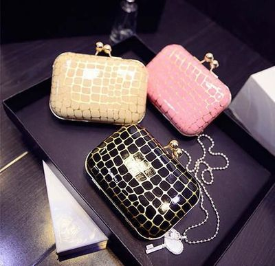 Women Evening Bag/ Clutch Handbag Minaudiere Purse