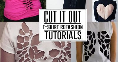 Cute shirt designs cutting
