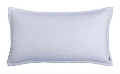 Laurie Diamond Quilted King Pillow by Lili Alessandra $325.00