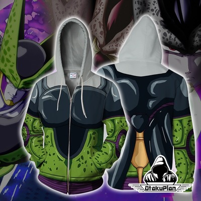 Dragon Ball Z Cell Hoodie Jacket $34.99