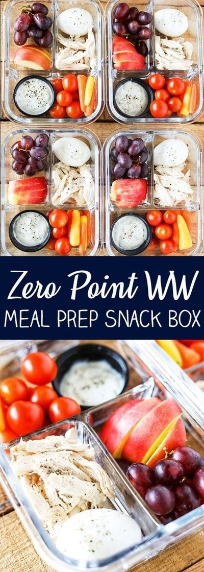 These Bistro Style Meal Prep Snack Boxes are packed with some of my favorite snacks to get you through a busy day. Great for breakfast, lunch, or grabbing a hea
