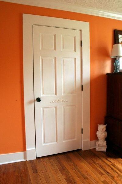 Awesome Wide, Flat Farmhouse Style Door Trim And Baseboards Just Using Pine Boards!