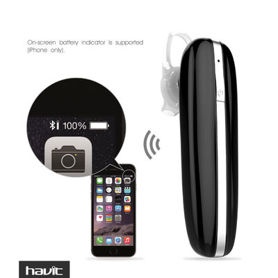 Havit I11 Mini Single Wireless Bluetooth Earphone DSP CVC6.0 Dual Noise Cancelling Earbuds with Mic