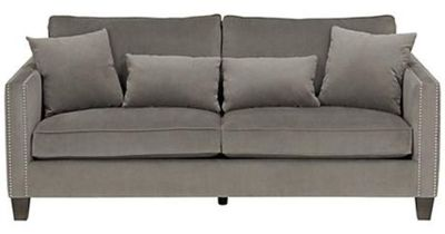 Cathedral Portsmouth Gray with Nailhead Trim Sofa